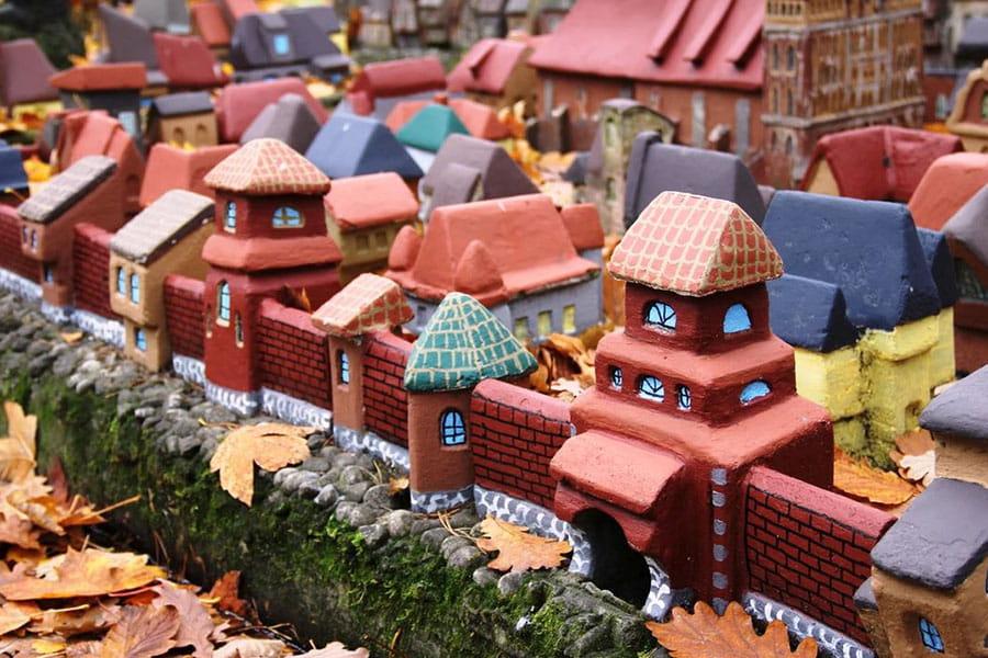 Что посмотреть в Светлогорске - Макет средневекового Кенигсберга