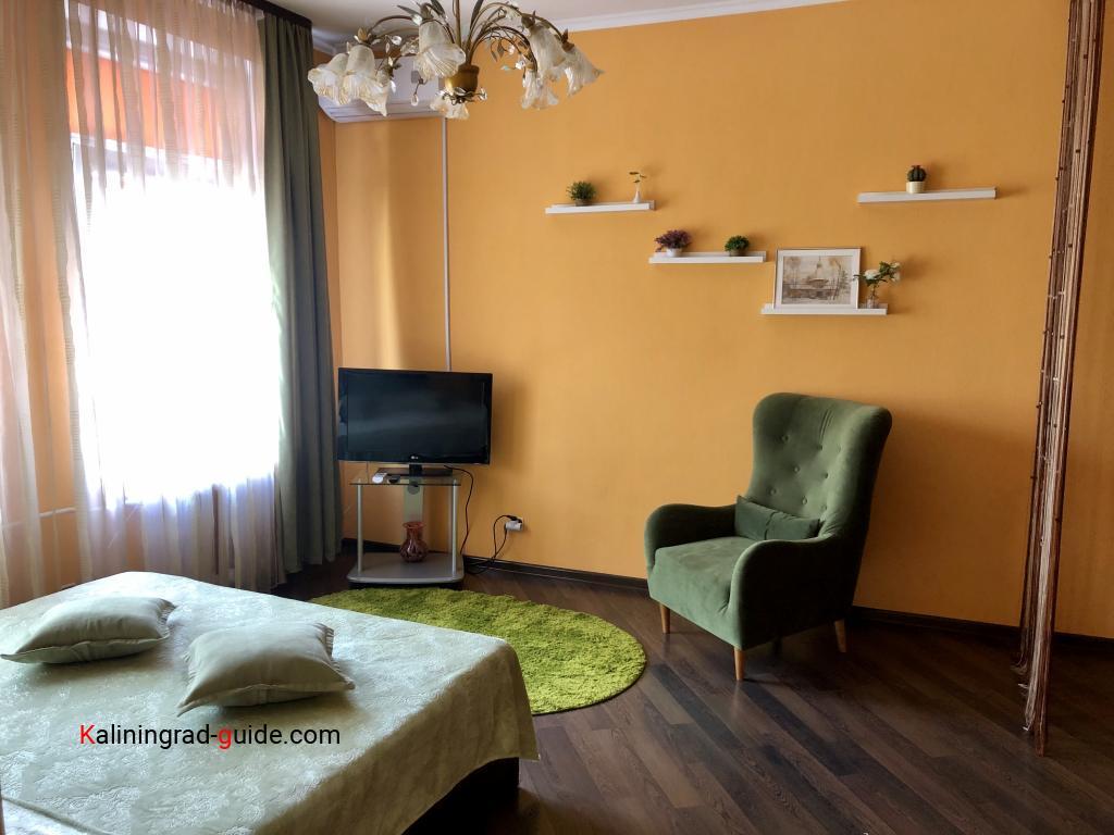 Где снять квартиру туристу в Калининграде