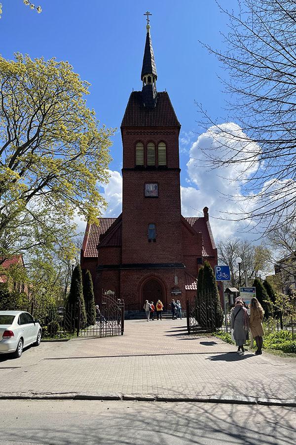 Кирха Святого Адальберта в Зеленоградске