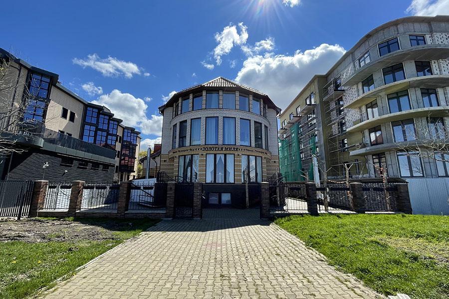Отель Золотая миля в Зеленоградске